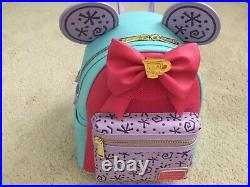 Loungefly Disney Minnie Mouse Main Attraction Mad Tea Party backpack