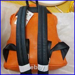 Loungefly X Disney Parks Pumpkin Mini Backpack Orange Mickey Mouse Halloween