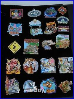 Lower Price. Disney Animal Kingdom Pin Lot With Album