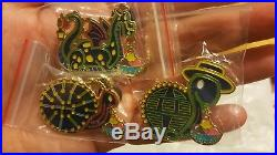 Main street electrical parade ptd fantasy pin LE50 glow in the dark