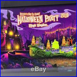 Mickey's Not So Scary Halloween Party 2019 Framed Set Disney Pin