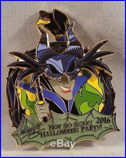 Mickeys Not So Scary Halloween Party 2016 Five Pin Disney Villains Boxed Set