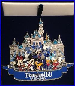 Mickeys of Glendale D23 Expo 2015 Disneyland 60th Anniversary Jumbo Pin LE 200