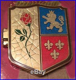 NEW Disney Shields of Fantasy Pin Set Limited LE Magic Kingdom Crests Beauty WDW