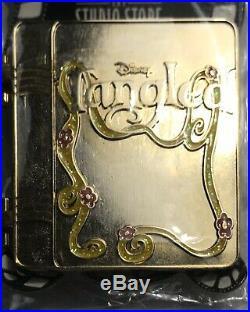 NEW Disney Tangled Gold Storybook Pin Limited LE 400 Princess Rapunzel DSF DSSH