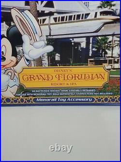 NEW Disney's Theme Park Collection GRAND FLORIDIAN Resort Spa Monorail Accessory