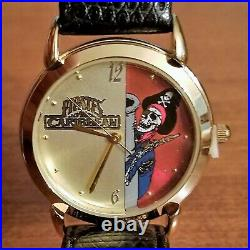 NEW FOSSIL Disney Watch LTD ED Theme Parks PIRATES OF THE CARIBBEAN Figure NOS