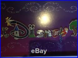 NEW Limited Edition Walt Disney World Framed Pin Set