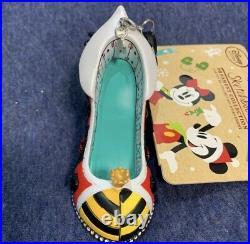 New Alice in Wonderland Queen of Hearts Shoe Villains Ornament Heel Disney 2016
