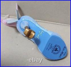 New Blue Fairy Shoe Ornament Pinocchio Disney Store Pink Blue Tag Rare