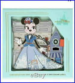 New Disney MINNIE MOUSE Main Street ATTRACTION Jumbo PIN Limited Edition LE 1000
