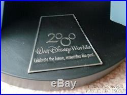 New Vintage WALT DISNEY WORLD 2000 EPCOT SPACESHIP EARTH BALL SPHERE +$50 BONUS