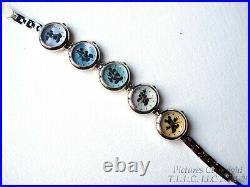 New Walt Disney Time Works/theme Parks Mickey Mouse 5 Movement Bracelet Watch