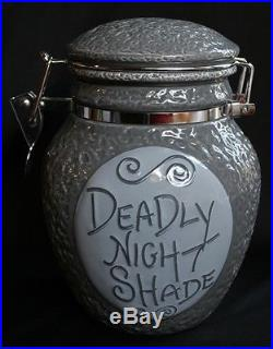 NiGHTMaRE BeFORe CHRiSTMaS SaLLY DEADLY NIGHT SHADE JaR THEME PARK EXCLUSIVE NeW