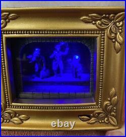 Olszewski Gallery of Light Disney Haunted Mansion Hitchhiking Ghosts COA NIB