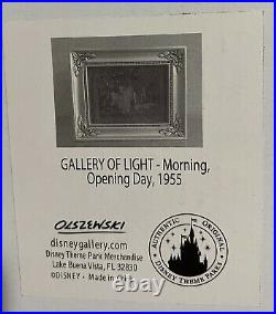 Olszewski Gallery of Light Disney Sleeping Beauty Castle Opening Day