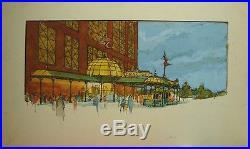 Original SIX FLAGS POWER PLANT Theme Park Concept Art Baltimore STEAMPUNK Disney