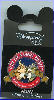 PTN Disney Disneyland Paris Pin Trading Night Bambi Thumper Miss Bunny Pin