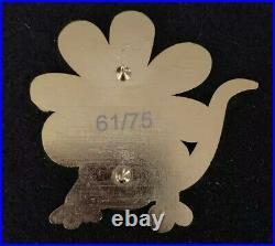 Pascal as Flower Fantasy Pin LE 61/75 Rapunzel Tangled HTF Rare VHTF Disney