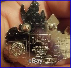 Piece of Disneyland History Pin 60th Anniversary Castle Tinker Bell LE 2000 2018