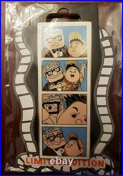 Pixar UP Carl Russell Photo Booth Picture Film Strip Disney DSF DSSH LE Pin