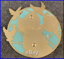 Princess Jasmine Stained Glass Disney Fantasy Pin LE /75 Dove Glitter Aladdin