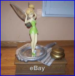 RARE 2007 Disney Theme Park EXCLUSIVE TINKERBELL LARGE BIG FIG Mint