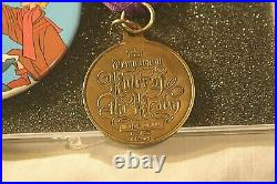 RARE DL Sword in the Stone Medal and Button TEMPORARY RULER OF THE REALM VINTAGE