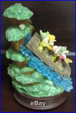 RARE Disney LE Splash Mountain Dwarfs Theme Park Ride Attraction Figure Dopey