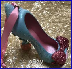 RARE Disney Parks Fairy Godmother Runway Shoe Ornament! Cinderella High Heel