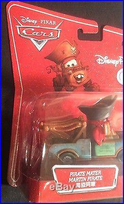 RARE! Disney Pixar Cars Die-Cast Pirate Mater MEGA size Disney Theme Park Exc