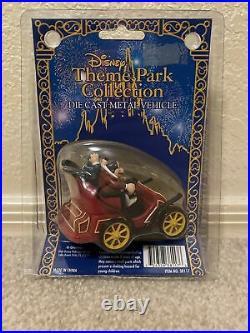 RARE Disney Theme Park Collection DieCast Vehicle Mr. Toads Wild Ride RETIRED