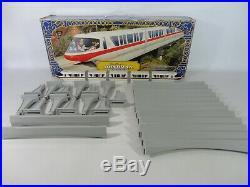 RARE Walt Disney World GOLD STRIPE Monorail Playset Toy Theme Park System
