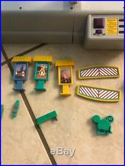 RARE Walt Disney World Monorail Switch Station Theme Park PlaySet Toy FOR PARTS