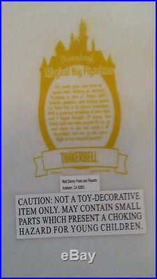 RARE and VERY LARGE Early 2007 Disney Theme Park EXCLUSIVE TINKERBELL BIG FIG