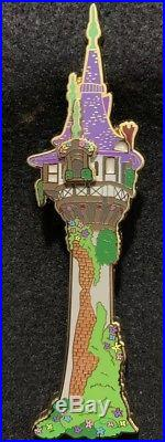 Rapunzel Tangled Castle Tower Disney Fantasy Pin LE /50 Limited Edition