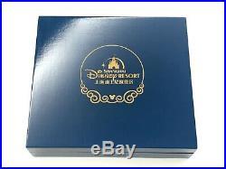 Rare Collectors Item Shanghai Disney Grand Opening 6 Pin Set in wooden crate