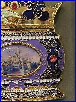 Rare Disney Featured Artist Celebration Surprise Tinker Bell Castle Jumbo Pin