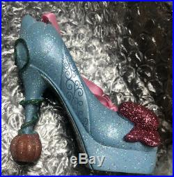 Rare Fairy Godmother's Cinderella Runway Shoe Ornament Disney Parks Exclusive