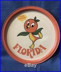 Rare Florida Orange Bird Vintage Collection 1970 Walt Disney Used