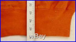 Rare Vintage Disneyland Walt Disney Orange Sweatshirt Sweater Theme Park Artex