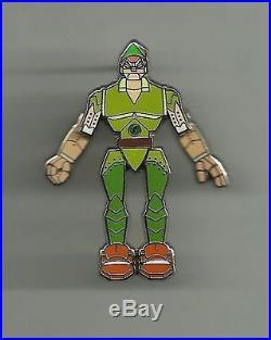 Rare Wdw Le 2 Peter Pan Tronic Disney Robot Tronics Tron Pin 64889