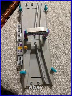 Retired Walt Disney World Monorail Switching station Playset theme Park Works