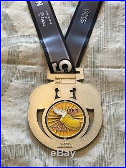 Run Disney 2018 Walt Disney Marathon Weekend 25th Anniv Marathon Medal