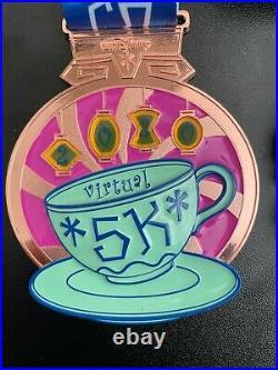 Run Disney 2020 virtual 5k medals Complete set