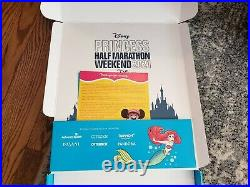Run Disney Princess Half Marathon Weekend 2021 NEW Medals and shirts
