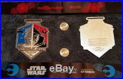 Run Disney World Star Wars Rival Run Half Marathon Weekend 3 medal set WDW