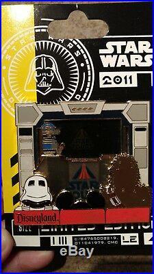 Sci-Fi Academy 2011 Piece of Star Tours History Jumbo LE 500 Disney Pin