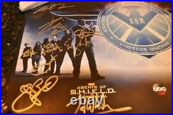 Sdcc Comic Con 2014 Agents Of Shield Agent Carter Signed Cast Poster Marvel