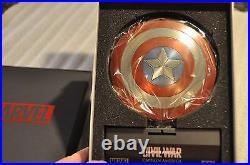 Sdcc Comic Con Efx Captain America 1/6 Scale Replica Shield CIVIL War
